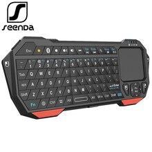 Seenda Mini Bluetooth 3 0 Keyboard With Touchpad For Computer Laptop Mini Keyboard For Phone TV