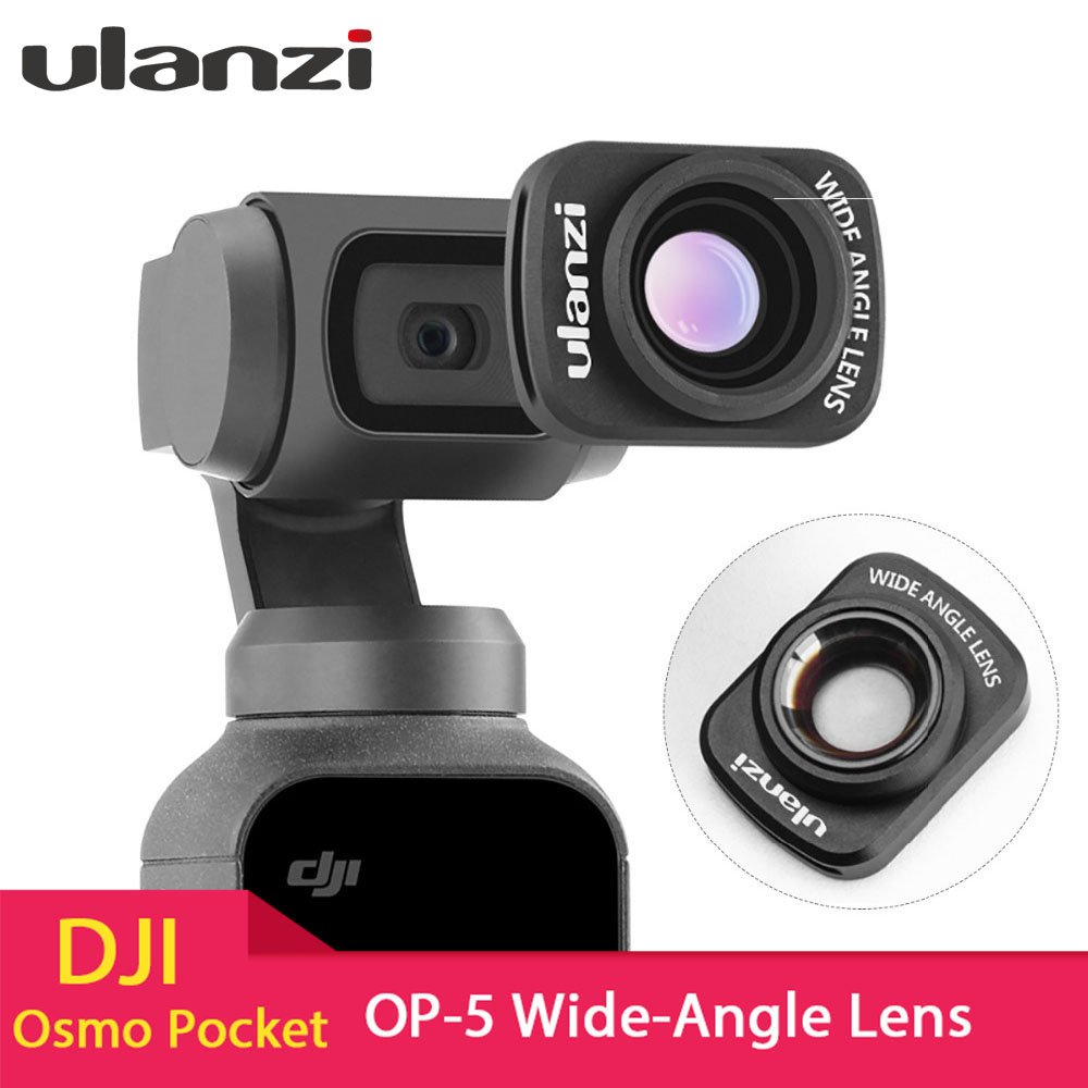 Ulanzi Magnetic Large Wide Angle Lens for DJI Osmo Pocket, Professional Macro Lens Osmo Pocket Accessories OP 5-in Gimbal Accessories from Consumer Electronics on Aliexpress.com | Alibaba Group