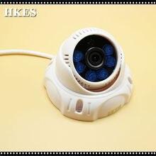 1MP 1280*720 Mini CCTV Camera AHD 2000TVL Indoor Dome Night Vision IR Security Video Surveillance