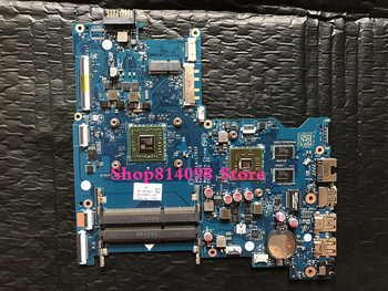 Laptop motherboard 818487-501 818487-601 for HP for Notebook 15 15-AF ABL51 LA-C781P R5M330 1GB A6-6310 TESTED OK