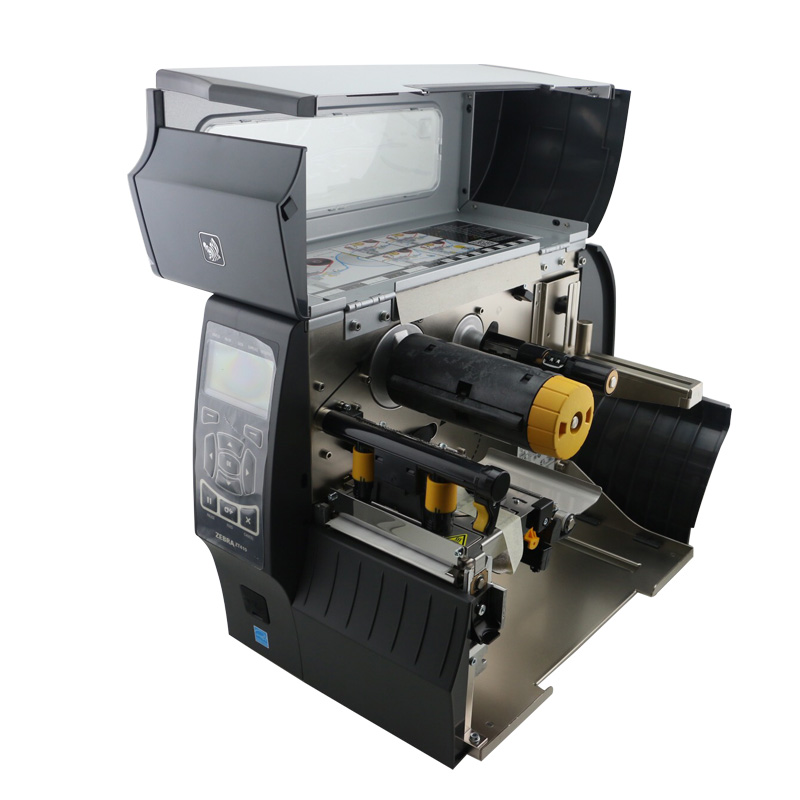 Zebra ZT410(300dpi) thermal barcode label Printer industrial printing  machine ZM400 updated model usb serial ethernet port-in Barcode Printer  from