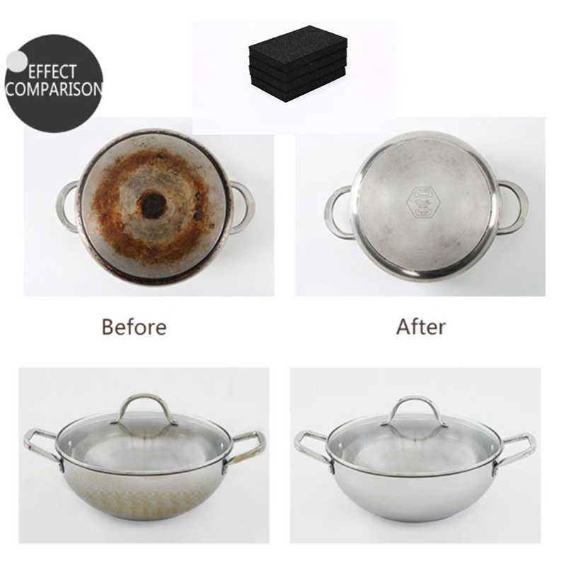 Esponja de melamina esponja de cocina limpiador por frotación olla excepto esponja de limpieza oxidada para el baño de la cocina 1/5 Uds.