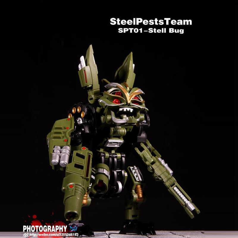 (IN STOCK) Toy Stell Pests Team- SPT01 - Steel Bug