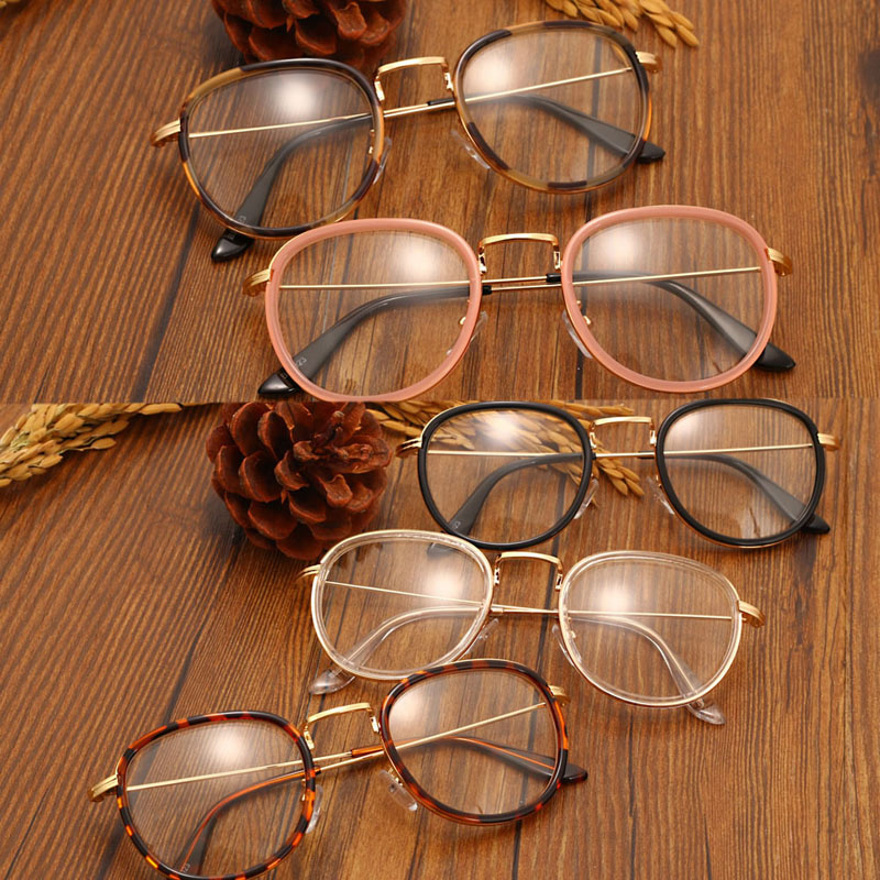 Retro Men Women Eyeglass Frame Clear Lens Eyewear Glasses Spectacles Hot