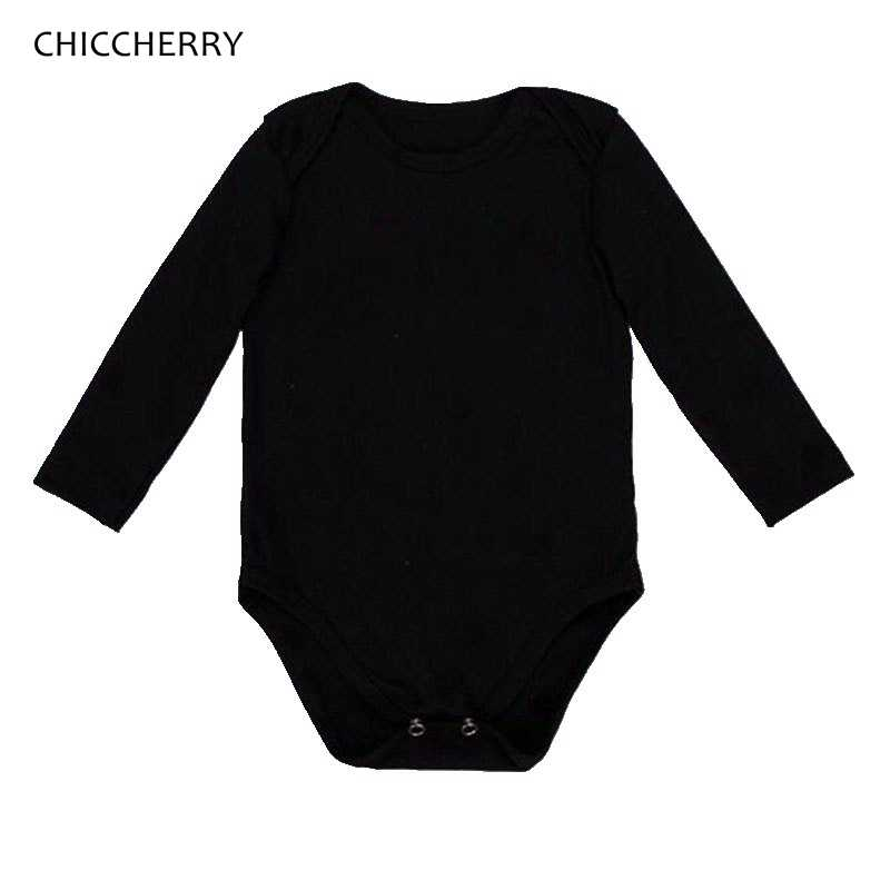 354908989 Detail Feedback Questions about Newborn Baby Bodysuit Black 3 Pack ...