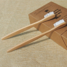 Hot healthy 1 pc/box Ultra Soft White Head Bamboo Charcoal Brush Teeth Cleaning BPA Free Nylon Bristle Toothbrush