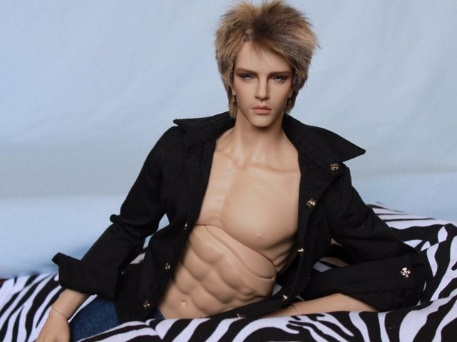 HeHe bjd sd hot sale boy 1/4 body 49.5cm fid body free eyes faceup low price to papua new guinea 2