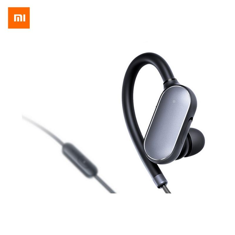 Original Xiaomi Mi Sports Bluetooth Headset Xiaomi Wireless Bluetooth 4.1 Music Sport Earbud IPX4 Waterproof and Sweatproof mi 313 migix movement music купить дешево в китае