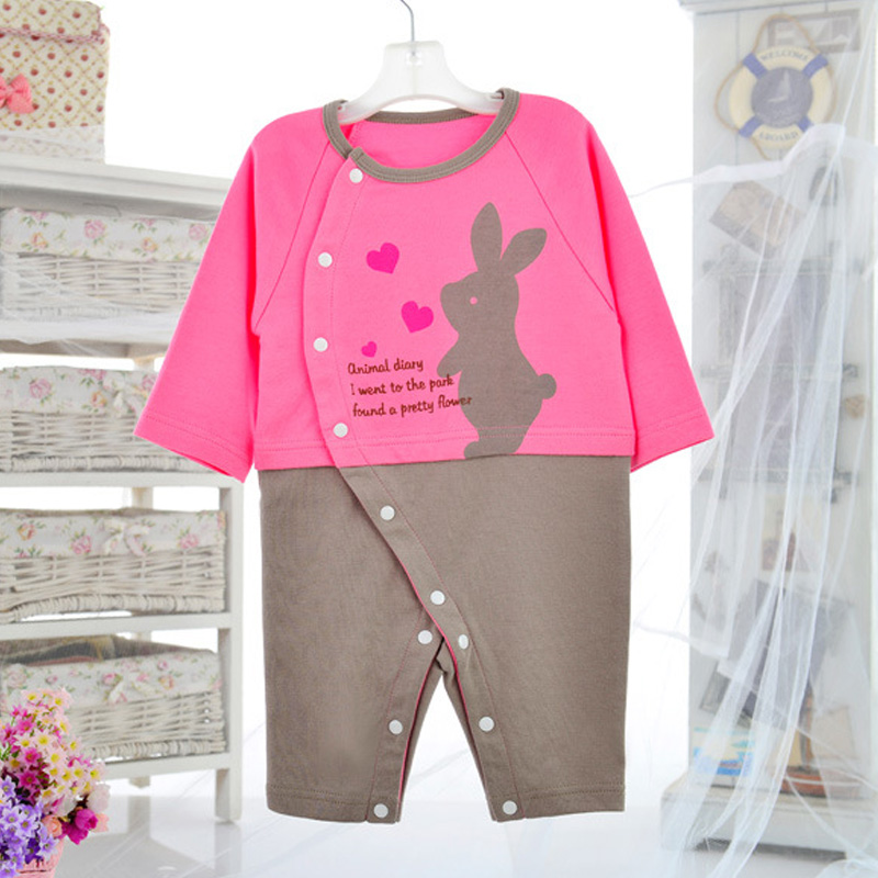 f7bdbc1c6 2016 Baby Easter Outfit Baby Romper Newborn Baby Girl Clothes Spring ...