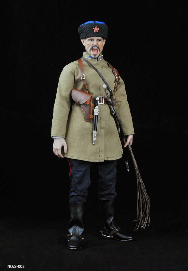 1 6 Action Figure Accessory 1 6 Scale WWII Soviet Cossack Cavalry Clothing Set No S003 No figure body Toys Gift in Action Toy Figures from Toys Hobbies