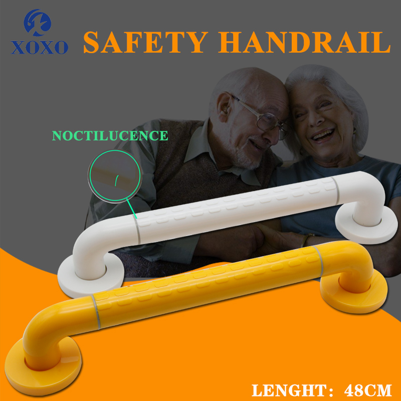 XOXO Grab Bar Bathroom Toilet Handle Handrail Accessory Safe Shower Tub Safety Helping Vacuum Suction Cup Anti Slip Support FS01