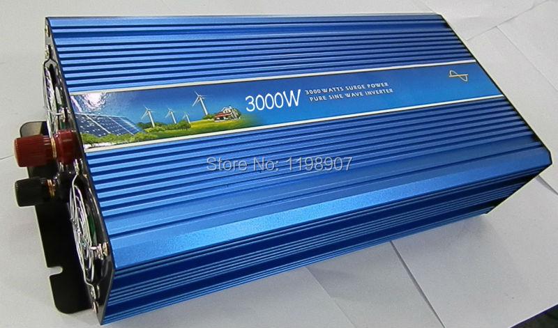 Pura inversor de onda sinusoidal CE RoHS SGS approved,12 volt 24 volt 12 volt home inverter 3000W Pure sine wave inverter