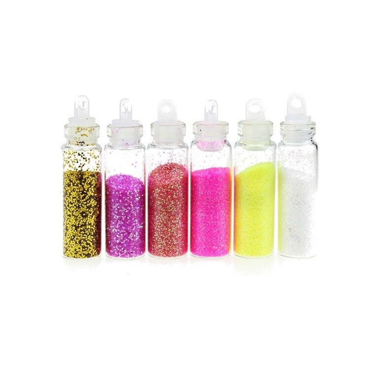 XE48 Nail art Acrylique Poudre et Liquide Polonais Peinture Liquide Glitter Nail outils Coups Manucure Nail art décorations