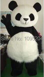 Classic panda mascot costume panda mascot costume giant panda mascot costume free shipping santa claus mascot costume christmas cosplay mascot costume free shipping
