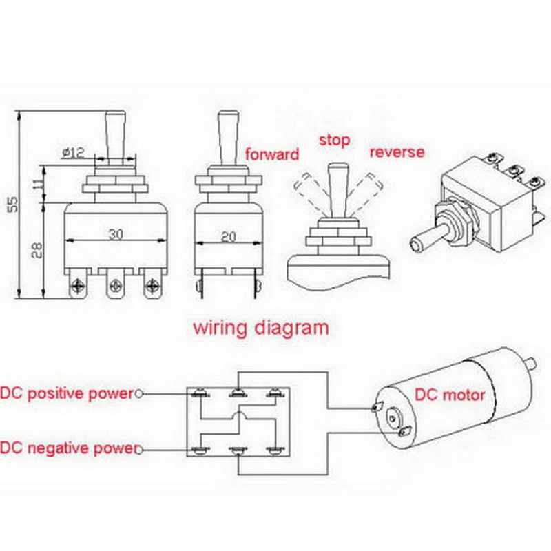 6 Pin Toggle Switch Wiring Diagram - Wiring Diagram Article