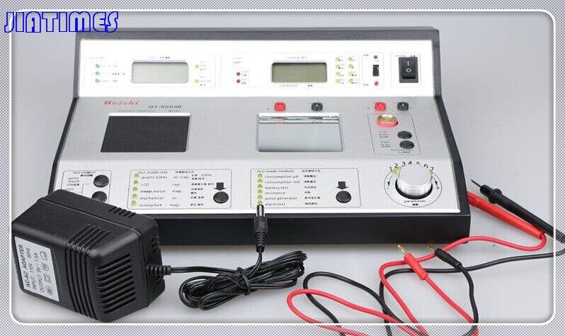 Testeur de montre à Quartz professionnel Weishi QT-8000B montre à Quartz pour réparateurs de montres et amateurs