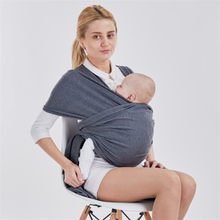 604a5864bd4 0-30 mois doux coton bébé écharpe respirant porte-bébé Porta Bebe infantile  confortable attache kangourou pour bébé couverture d.