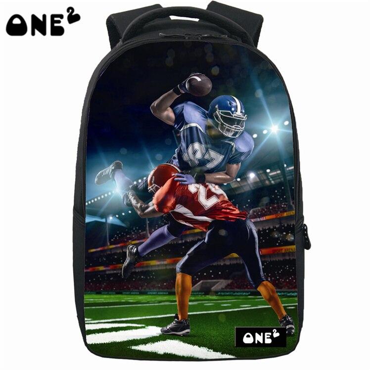 ONE2 New design laptop backpack bag sublimation high backpack 3d teenager kids backpack with wheels custom design backpacks