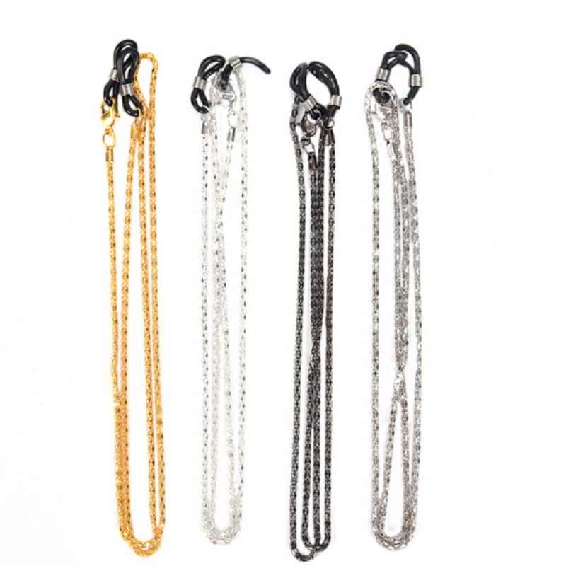 62cm femmes lunettes lunettes de soleil Anti-perte chaînes cou cordon sangle de maintien corde chaîne 4 couleurs