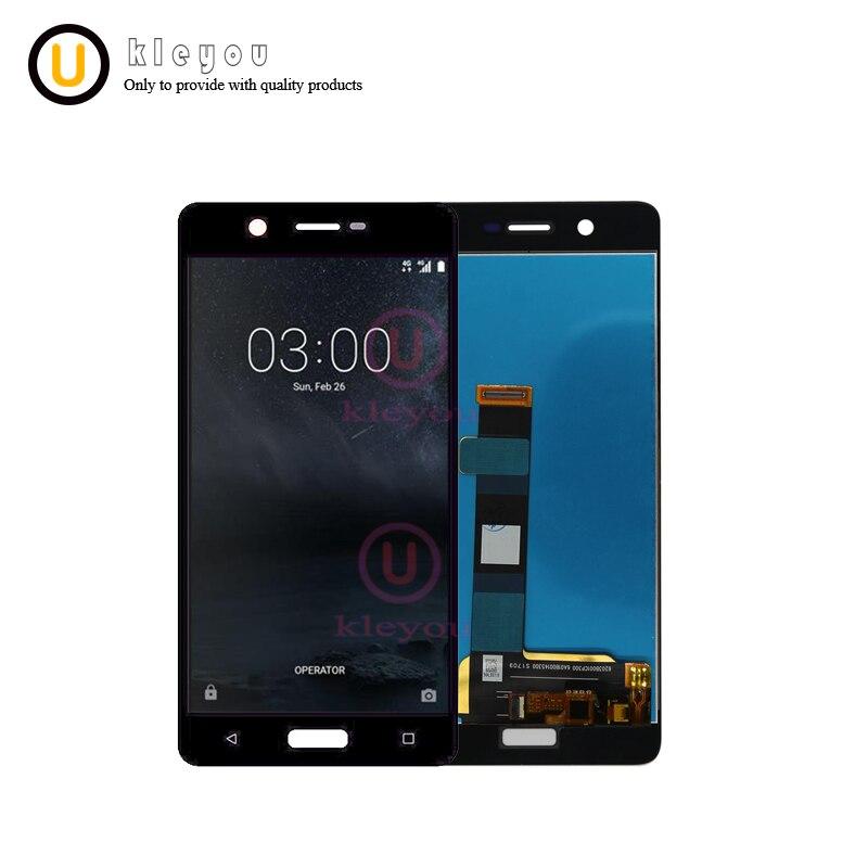 Für Nokia 5 LCD TA-1024 TA-1027 TA-1044 TA-1053 TA-1008 TA-1030 Display Touchscreen Digitizer Assembly Ersatzteile N5 lcd