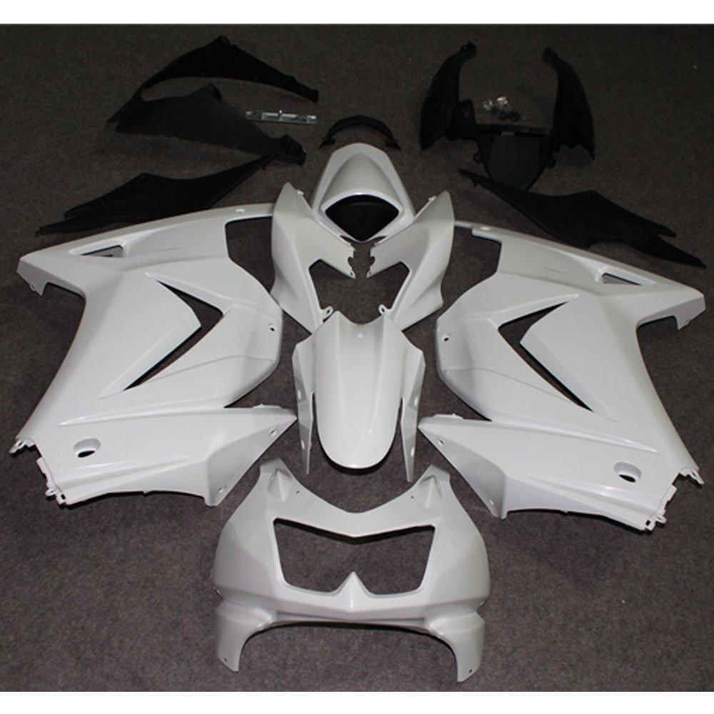 Unpainted Injection Mold Fairing Kit For Kawasaki NINJA 250 EX250 2008 Ninja250R 08 Motorcycle Full Fairings Bodywork Cowl Case