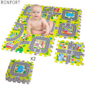 Baby EVA Foam Play Puzzle Mat for kids Interlocking Exercise Tiles Floor Carpet Rug Each 30X30cm18 9/18pcs Playmat Crawling Mat