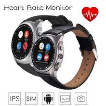 S mart w atch A8บลูทูธสมาร์ทนาฬิกานาฬิกาข้อมือหัวใจRate Monitorกล้องวงกลมHDหน้าจอIPSมาร์ทโฟนIOSและAndroid