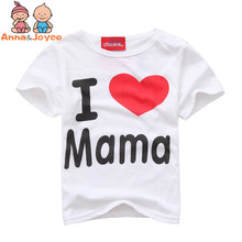 Простое папа мама любовь длинными рукав рукавами письмо футболка футболки хлопка