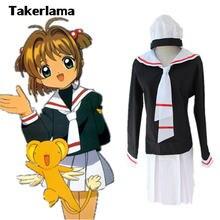 Takerlama аниме карточка captor sakura girl сейлор костюм школьная