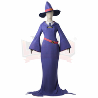 Cosplay Legend Little Witch Academia Sushi Manbabaran Sucy Mambavaran Cosplay Adult Costume Full Set All Size