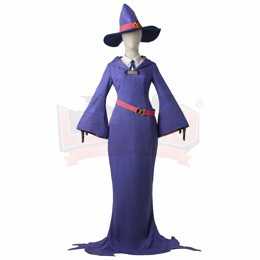 anime Little Witch Academia Sushi Manbabaran Sucy Mambavaran Cosplay adult costume full set halloween women costume
