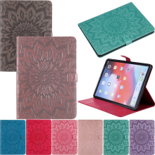Luxury Sunflower Leather Wallet Magnetic Flip Case Cover Shell Tablet Coque Funda Stand For Amazon Kindle Paperwhite 1/2/3/4