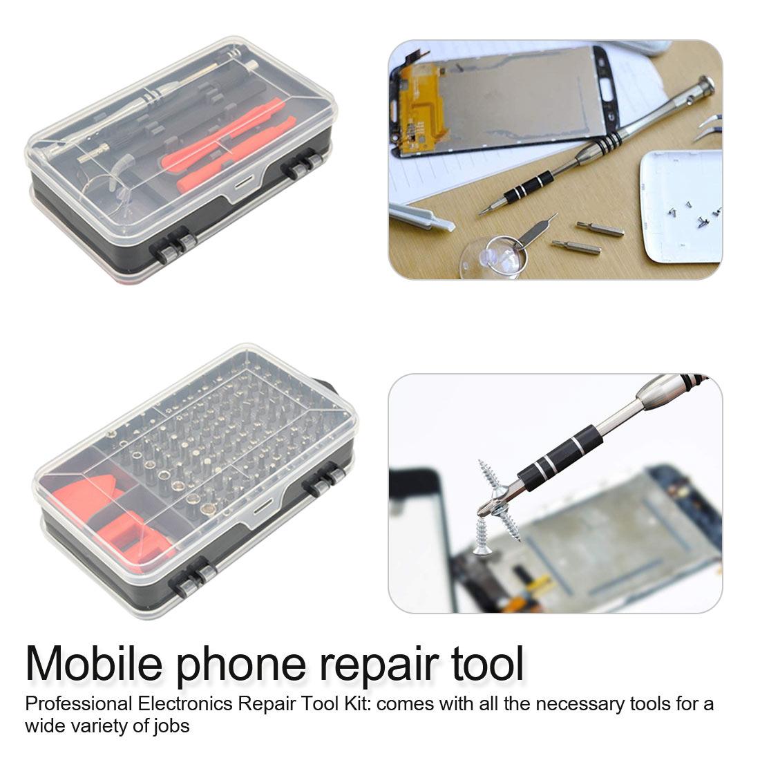 112 In 1 Precision Screwdriver bit Set Multi Mobile Phone Repair Tools Kit Professional Repair watch repair kit|Repair Tools & Kits| |  - title=