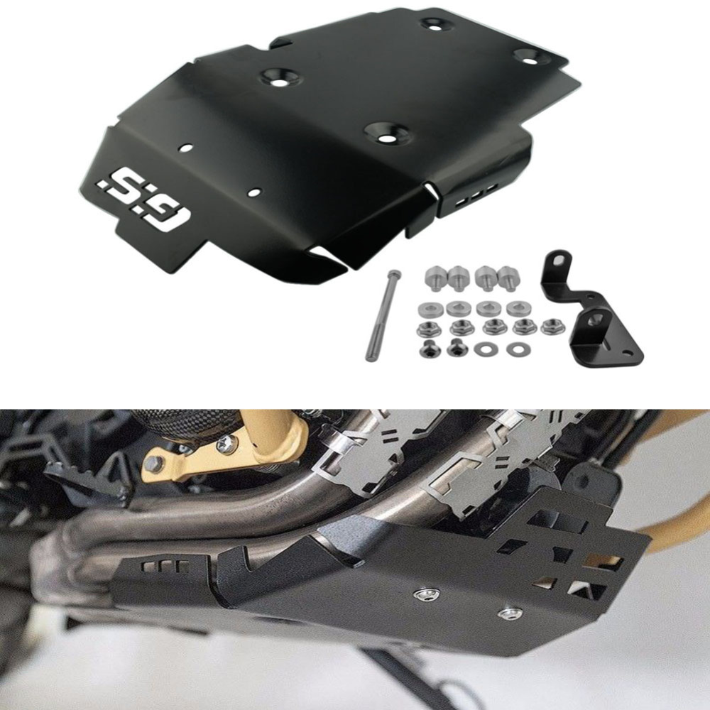 For 2008 2013 BMW F650GS 2008 2017 BMW F700GS 2008 2017 BMW F800GS Black Motorcycle Engine