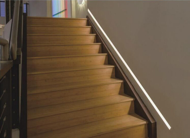 Led Step Lighting 25x2m A Lot Free Shipping Led Stair Lighting Clean Design  Aluminum Profile With