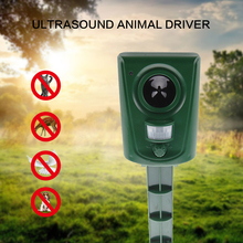 Ultrasonic Cat Repeller perosak hama Dog Fox Deterrent Penghancur Penghancur Eco-friendly Garden Perosak Animal Repeller