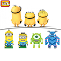 Movie Role Diamond Blocks Despicable Me Monsters University ABS Action Figure Building Blocks Toys Children Gift