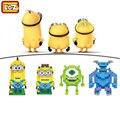 Papel filme de Diamante Blocos Despicable Me Monstros Universidade ABS Action Figure Building Blocks Brinquedos Presente Das Crianças