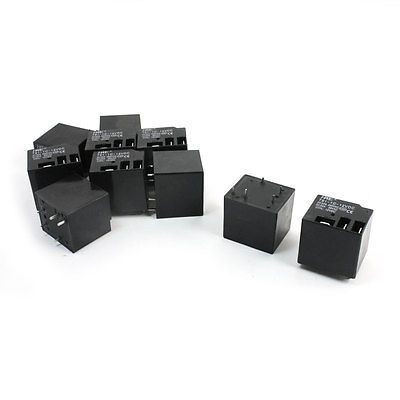 цена на 10pcs T91-1C DC 12V Coil Volt DPDT 5 Pin Electromagnetic Power Relay Free Shipping