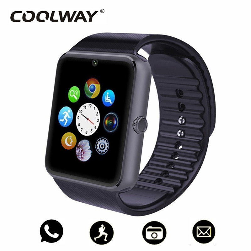 75c59fa647a ... Homens Relógio de Pulso PK Q18. DZ09 Anti lost Passometer Smart Watch  Men s GT08 Bluetooth SmartWatch Men Support Sim Card Sleep