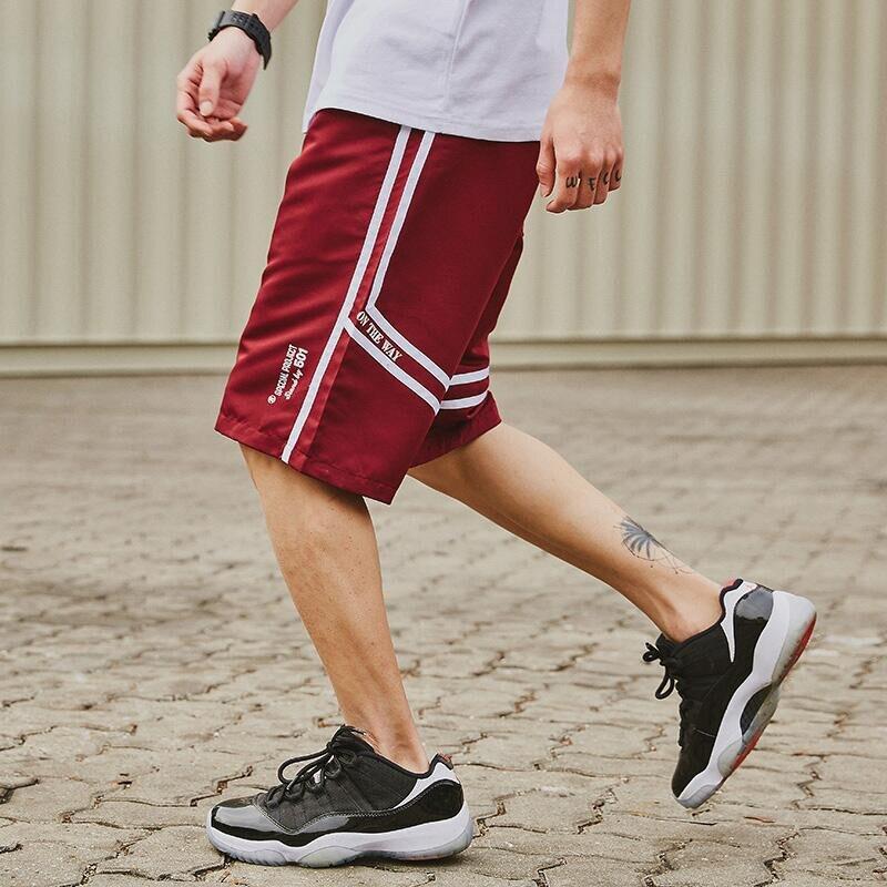 Elasticity Cargo Short Male Print Cotton Shorts Men New Summer Street Loose Men Shorts Beach Board Short Male M-2XL A5313