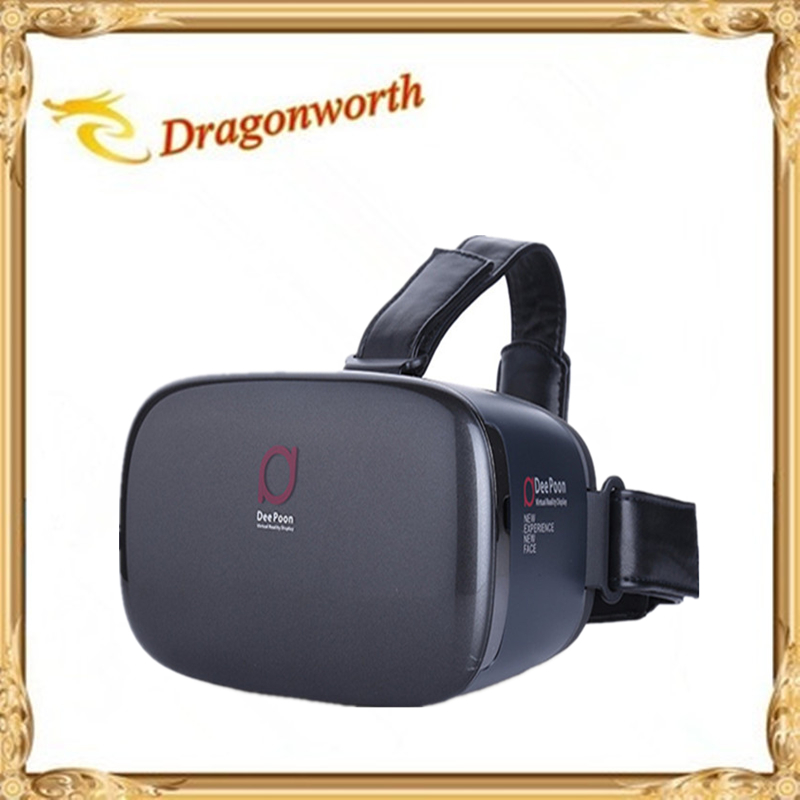 3pcs DEEPOON E2 <font><b>Virtual</b></font> <font><b>Reality</b></font> 3D PC <font><b>Glasses</b></font> 1080*1920 VR Headset <font><b>Head</b></font> <font><b>Mount</b></font> Compatible with Oculus Rift DK2 's Game Movie