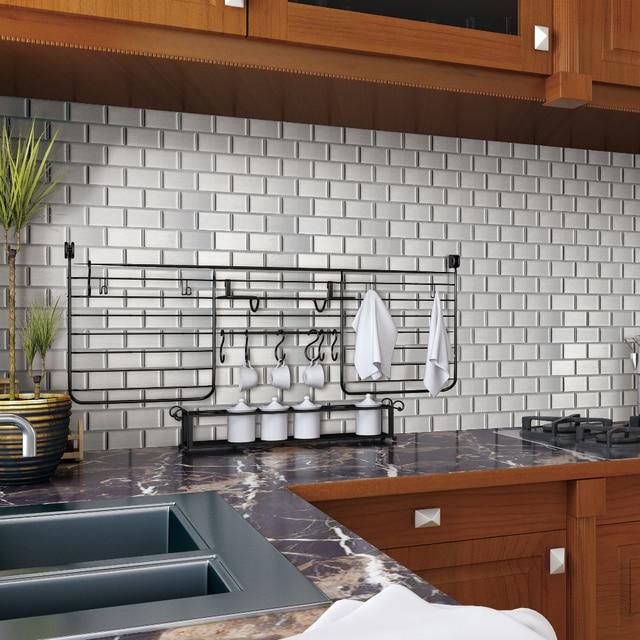 6pcs Lot Self Adhesive Wallpaper Diy Brick Sticker L And Wall Tile
