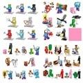 Mine World Minecrafted  Zombie Steve Pigman Alex Enderman Skeleton Building Blocks My Craft Brick Kids Enlighten Toys
