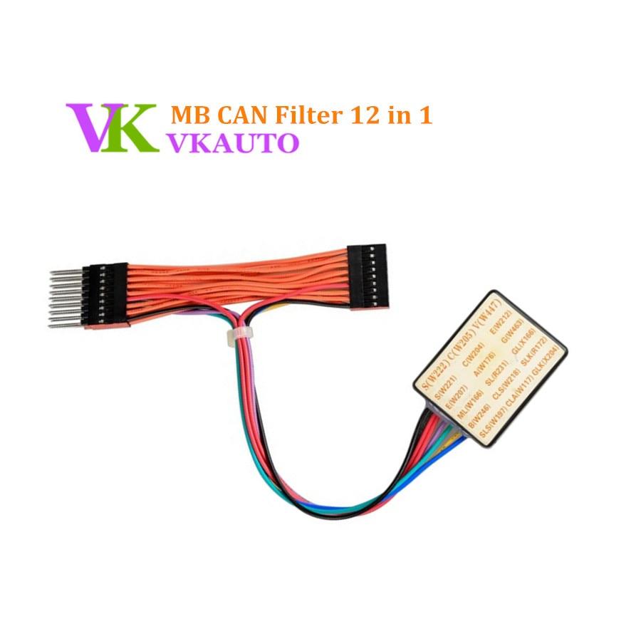MB CAN Filter 12 in 1 for W221 W204 W207 W212 W166 and X166 W218 W172