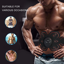 Fitness Training myostimulator for muscle EMS Abdominal Stimulator Electric Slimming Belt Massage ABS Muscle Stimulator Loss Fat