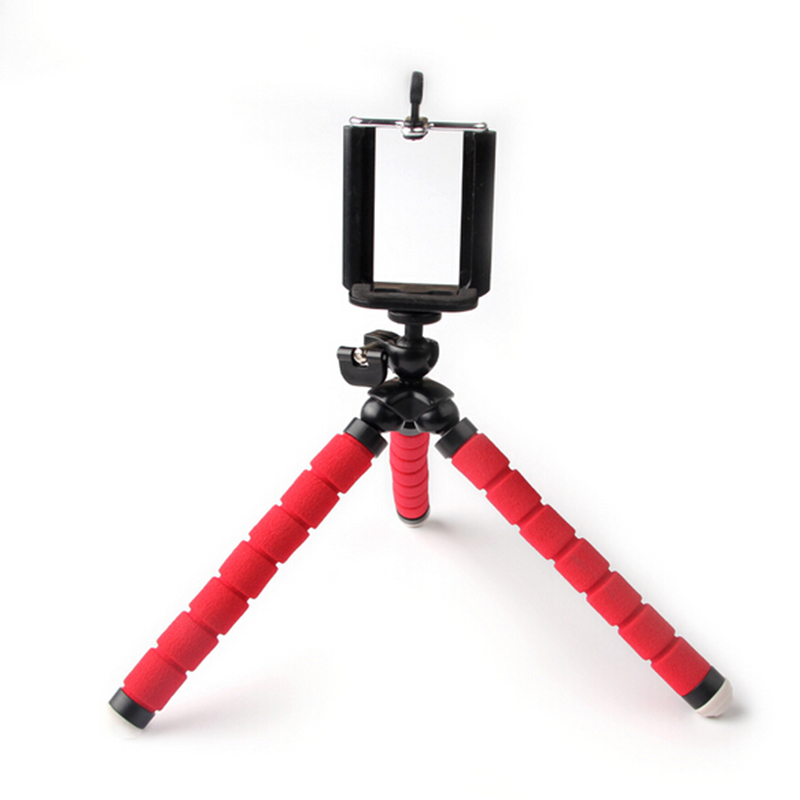 Flexible Octopus Tripod Phone Holder Expanding Stand Mount Monopod Styling Accessories For Mobile Phone Camera Universal Desk Mobile Phone Accessories