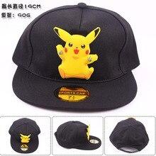 Pikachu Pokemon go Pocket Monster Cosplay Cap Going Merry charm Costume Baseball cap Adult Blank Snapback Caps Novelty