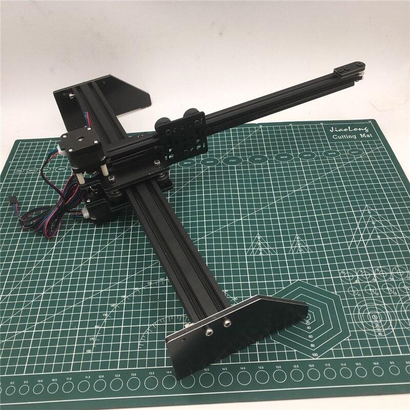 1set  DIY Drawing Machine Corexy XY-plotter Drawing Robot Kit Plotter CNC Laser Cutter DIY Not Assembly Kit