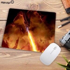 Image 4 - Mairuige alfombrilla de caucho para ratón diseño de fuego moderno, alfombrilla rectangular para ordenador portátil, ratón para jugador almohadilla para ratón de velocidad 220x180x2MM